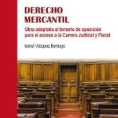 Libros: DERECHO MERCANTIL. Lote 196570253