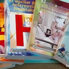 Libri: LOTE LIBROS AUXILIAR DE ENFERMERÍA EDITORIAL LOGOSS. Lote 196765632