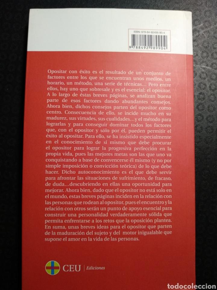 Libros: Consejos para opositar con éxito. Cuarta impresión, 2015 - Foto 2 - 197394738