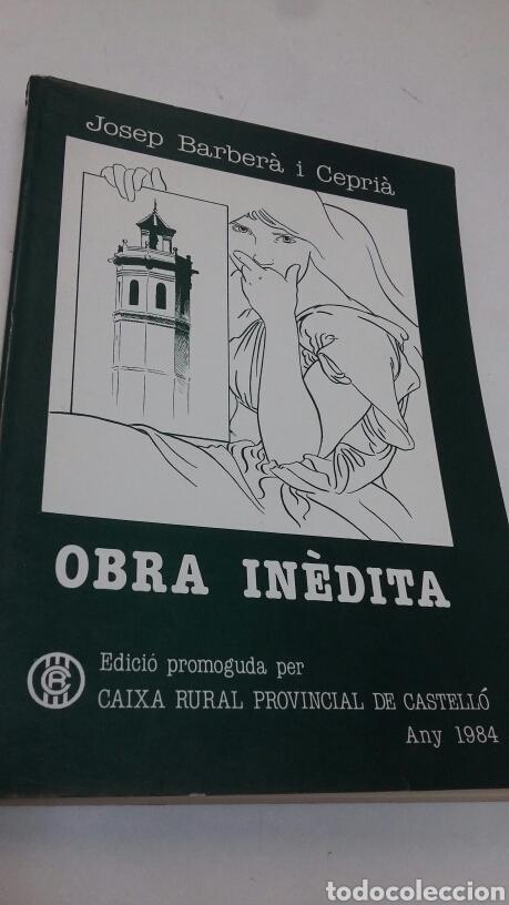 OBRA INEDITA (Libros Nuevos - Oposiciones)