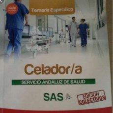 Libros: TEMARIO OPOSICIONES CELADOR SAS. Lote 199998901