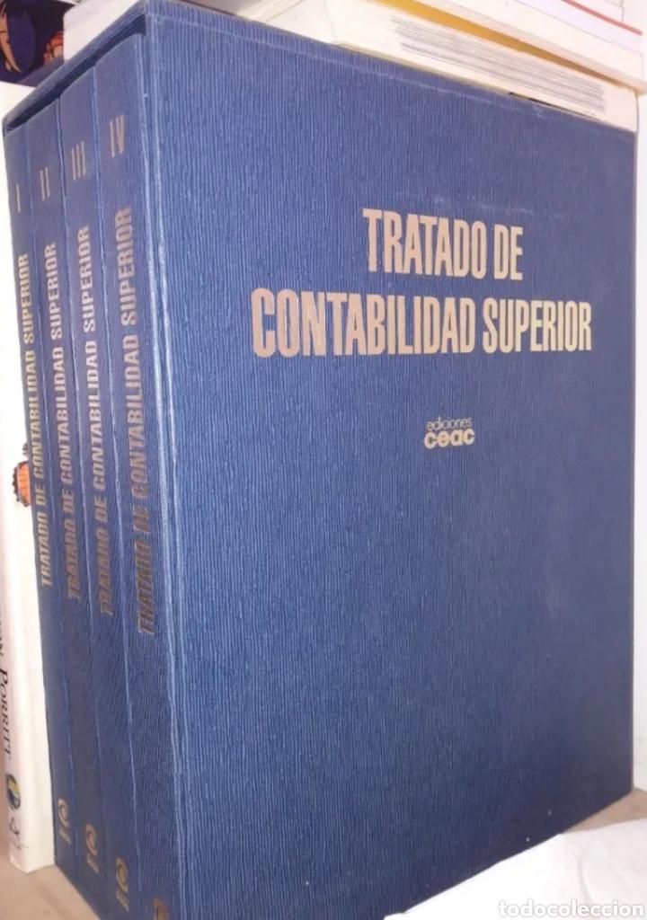 TRATADO DE.CONTABILIDAD SUPERIOR.NUEVOS.4 VOLUMENES.COMPLETOS.EDCIONES.LIBROS. (Libros Nuevos - Oposiciones)
