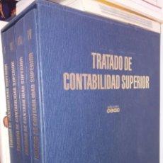 Libros: TRATADO DE.CONTABILIDAD SUPERIOR.NUEVOS.4 VOLUMENES.COMPLETOS.EDCIONES.LIBROS.. Lote 209598176