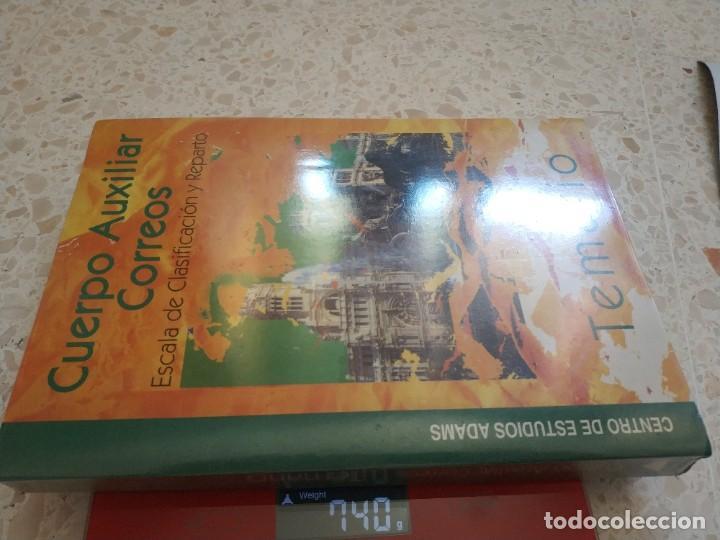 Libros: TEMARIO CUERPO AUXILIAR CORREOS.- ESCALA DE CLASIFICACION Y REPARTO - Foto 3 - 209791417