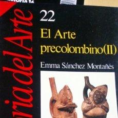 Libros: EL ARTE PRECOLOMBIANO (2). Lote 216977986