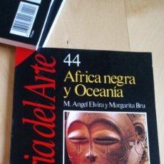 Libros: AFRICA NEGRA Y OCEANÍA. Lote 216978112