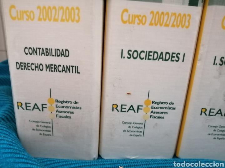 Libros: MASTER FISCAL A DISTANCIA DEL REAF. 2002 - 2003 - Foto 2 - 224550372