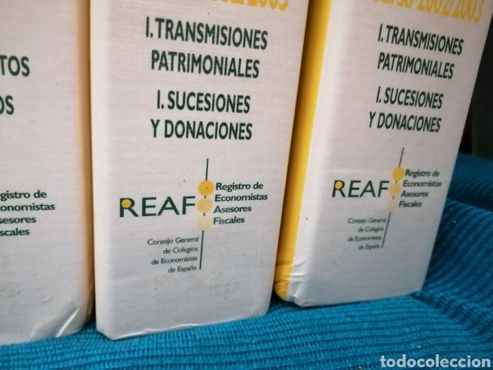 Libros: MASTER FISCAL A DISTANCIA DEL REAF. 2002 - 2003 - Foto 5 - 224550372