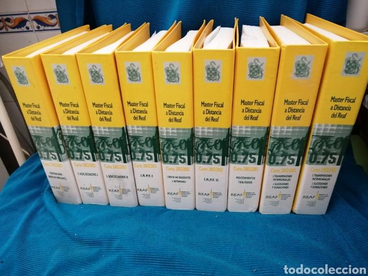 MASTER FISCAL A DISTANCIA DEL REAF. 2002 - 2003 (Libros Nuevos - Oposiciones)