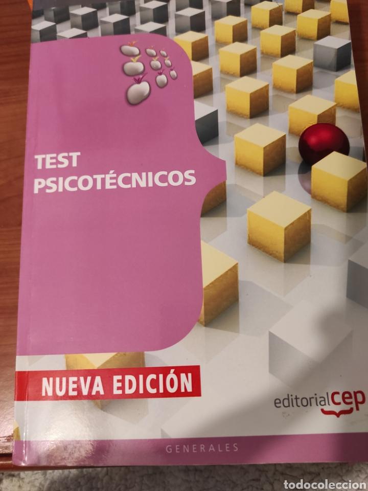 TEST PSICOTÉCNICOS (Libros Nuevos - Oposiciones)