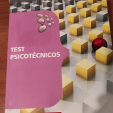 Libros: TEST PSICOTÉCNICOS. Lote 229607935