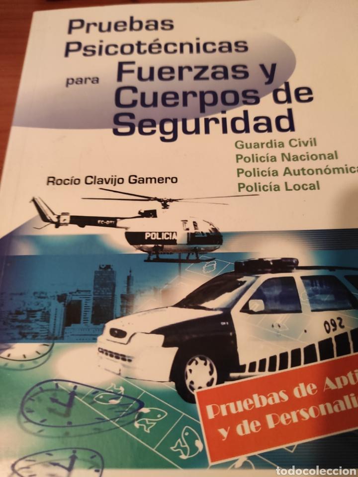 PRUEBAS PSICOTECNICAS PARA FUERZAS Y CUERPOS DE SEGURIDAD (Libros Nuevos - Oposiciones)