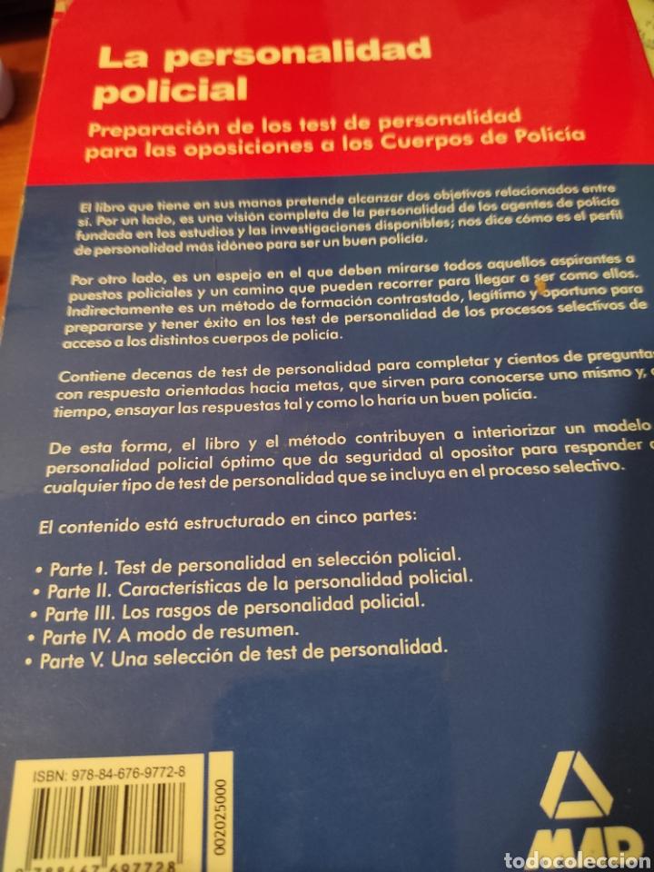 Libros: La personalidad policial - Foto 2 - 230163580