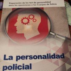 Libros: LA PERSONALIDAD POLICIAL. Lote 230163580