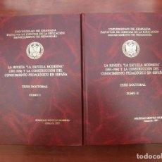 Libros: TESIS DOCTORAL. Lote 262208140
