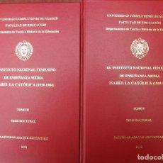 Libros: TESIS DOCTORAL. Lote 262219480