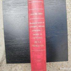 Libros: TESIS DOCTORAL. Lote 262371430