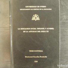 Libros: TESIS DOCTORAL. Lote 262380770