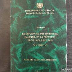 Libros: TESIS DOCTORAL. Lote 262383500