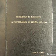 Libros: TESIS DOCTORAL. Lote 262386295