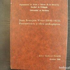 Libros: TESIS DOCTORAL. Lote 262389590