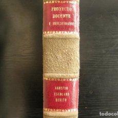 Libros: CONCURSO DE CÁTEDRA. Lote 262391830