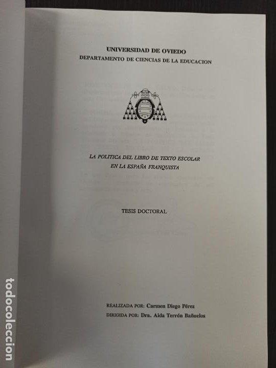 Libros: Tesis Doctoral - Foto 2 - 265196104