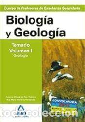 CUERPO DE PROFESORES DE ENSEÑANZA SECUNDARIA. BIOLOGÍA Y GEOLOGÍA. TEMARIO. VOLUMEN I. GEOLOGÍA (Libros Nuevos - Oposiciones)