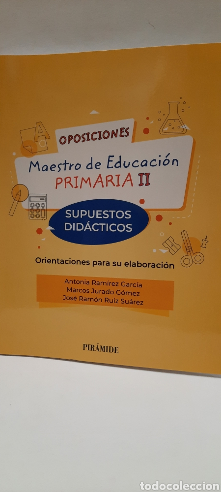 OPOSICIONES MAESTRO DE EDUCACIÓN PRIMARIA. SUPUESTOS DIDÁCTICOS (Libros Nuevos - Oposiciones)