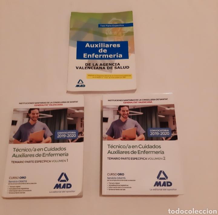 LIBROS OPOSICIONES AUXILIAR DE ENFERMERÍA (Libros Nuevos - Oposiciones)
