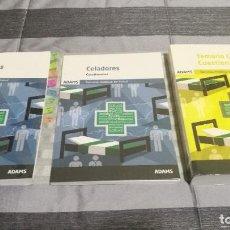 Libros: LOTE TEMARIO CELADOR OPOSICIONES SAS. Lote 290706093