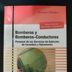Libros: TEMARIO MAD BOMBERO Y BOMBEROS CONDUCTORES. Lote 290708473