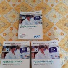 Libros: LIBROS OPOSICIONES AUXILIAR DE FARMACIA. Lote 295272673