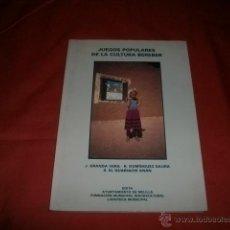 Livros: JUEGOS POPULARES DE LA CULTURA BEREBER. Lote 48005716