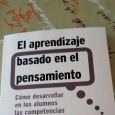 Libros: LIBRO EL APRENDIZAJE BASADO EN EL PENSAMIENTO. ROBERT J. SWARTZ, ARTHUR L. COSTA, BARRY K. BEYER. SM. Lote 91502877