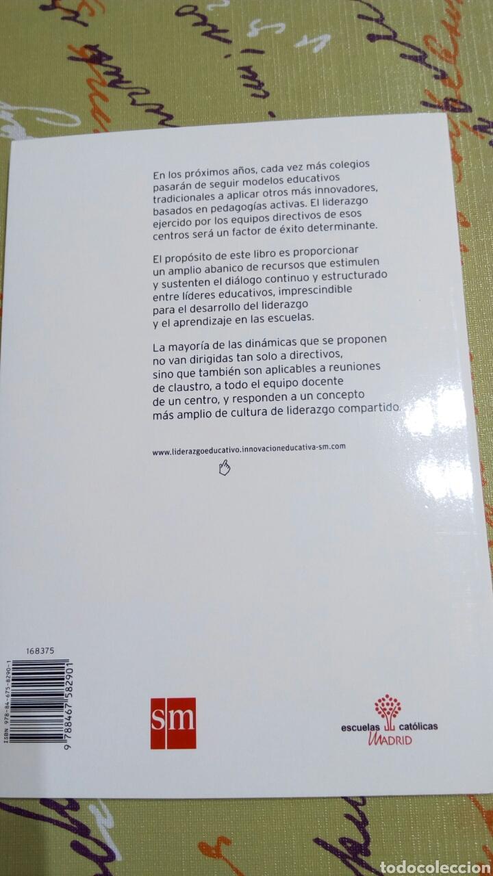 Libros: Libro Diálogos sobre liderazgo educativo. Dave Harris John West Burnham. innovación educativa SM. - Foto 2 - 104404695