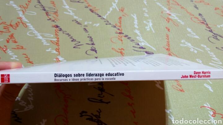 Libros: Libro Diálogos sobre liderazgo educativo. Dave Harris John West Burnham. innovación educativa SM. - Foto 4 - 104404695
