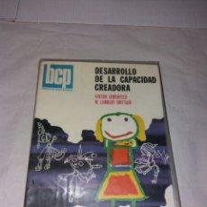 Libros: DESARROLLO DE LA CAPACIDAD CREADORA VIKTOR LOWENFELD. Lote 108363160