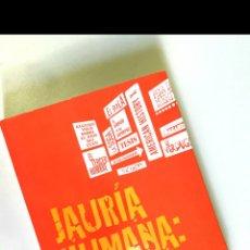 Libros: JAURÍA HUMANA. CINE Y PSICOLOGÍA. URRA/COMPADRE/ROMERO/TORRES DULCE. Lote 109446168