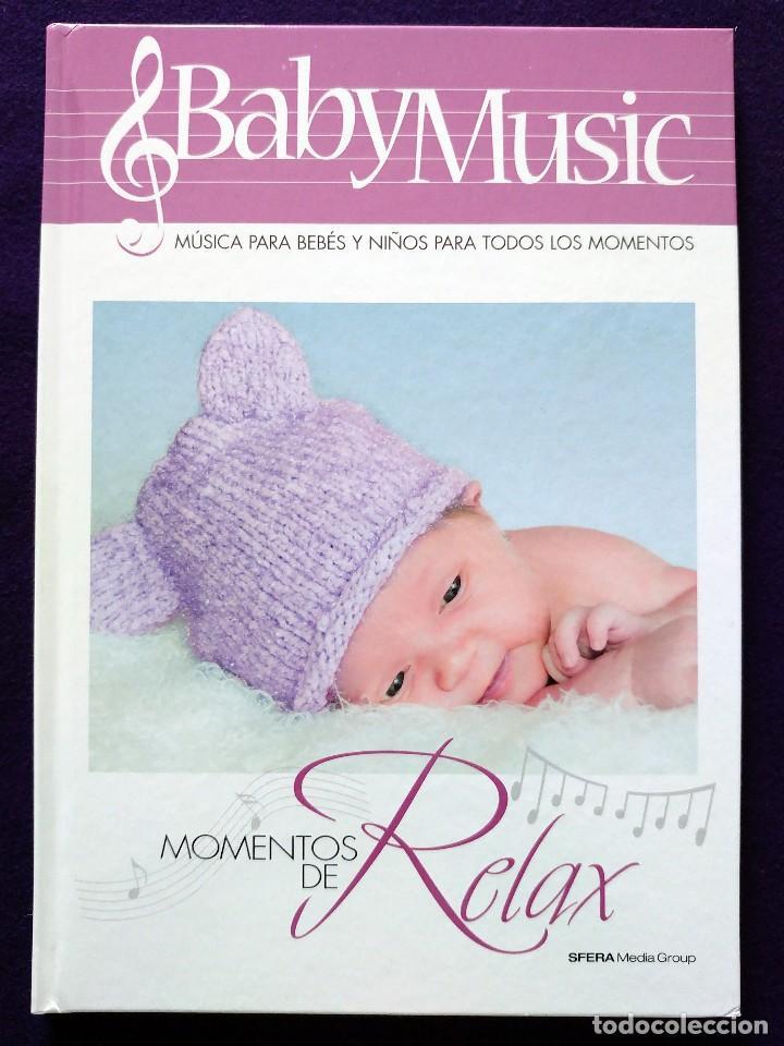 Libros: COLECCION BABY MUSIC. 4 CD MUSICA CLASICA PARA BEBES Y SUS LIBROS DIDACTICOS. NUEVOS. DORMIR.RELAX.. - Foto 2 - 111772911