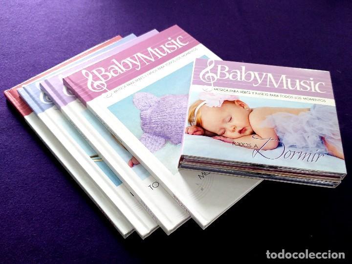 Libros: COLECCION BABY MUSIC. 4 CD MUSICA CLASICA PARA BEBES Y SUS LIBROS DIDACTICOS. NUEVOS. DORMIR.RELAX.. - Foto 10 - 111772911