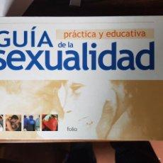 Libros: GUIA SEXUALIDAD. Lote 126559244