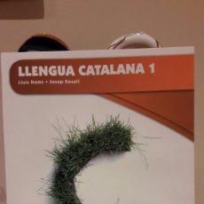 Libros: LLENGUA CATALANA 1. Lote 128053703