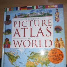 Libros: PICTURE ATLAS OF THE WORLD. Lote 130792267