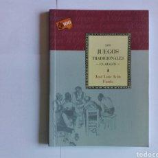 Libros: LIBRO DE BOLSILLO, CAI 100, LOS JUEGOS TRADICIONALES EN ARAGÓN.. Lote 133579819