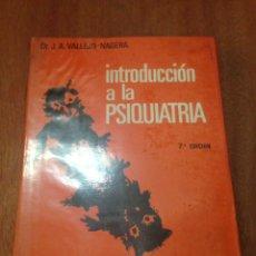 Libros: INTRODUCCIÓN A LA PSIQUIATRÍA. Lote 135288711