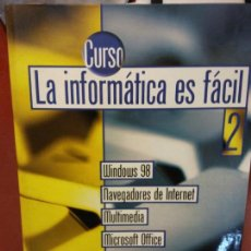 Libros: BJS.CURSO LA INFORMATICA ES FACIL.EDT. LA VANGUARDIA... Lote 140979718