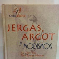 Libros: BJS.CALLES-BERMEJO.JERGAS,ARGOT Y MODISMOS.EDT, LIBSA.BRUMART TU LIBRERIA.. Lote 146248418