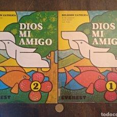Libros: DIOS MI AMIGO, RELIGIÓN CATÓLICA. EVEREST. 1981/1982. Lote 149475769