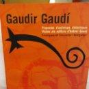 Libros: BJS.GAUDIR GAUDI.QUADERM DE L´ALUMNE.EDT, GENERALITAT DE CATALUNYA... Lote 151366194